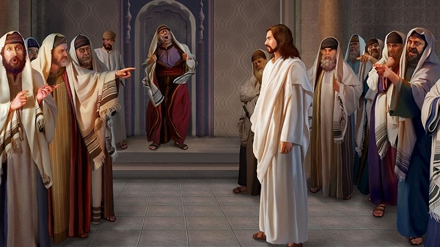 pharisees and jesus relationship with judas